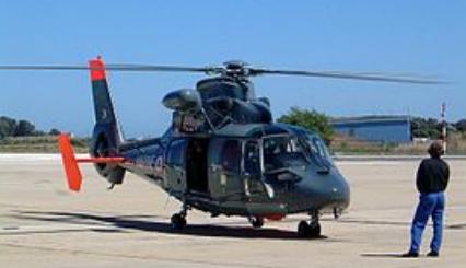 Image d'hélicoptère