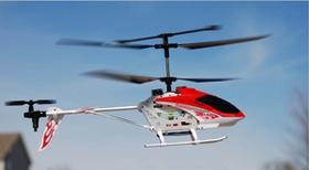 Notre hélicoptère réduit